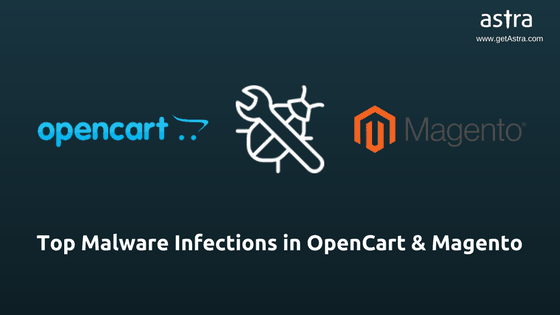 OpenCart Magento Malware Infections