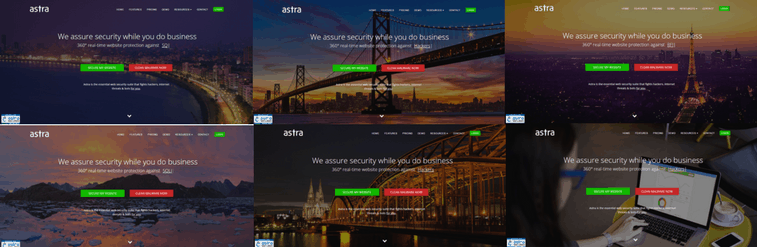 Astra-Security-HomePages
