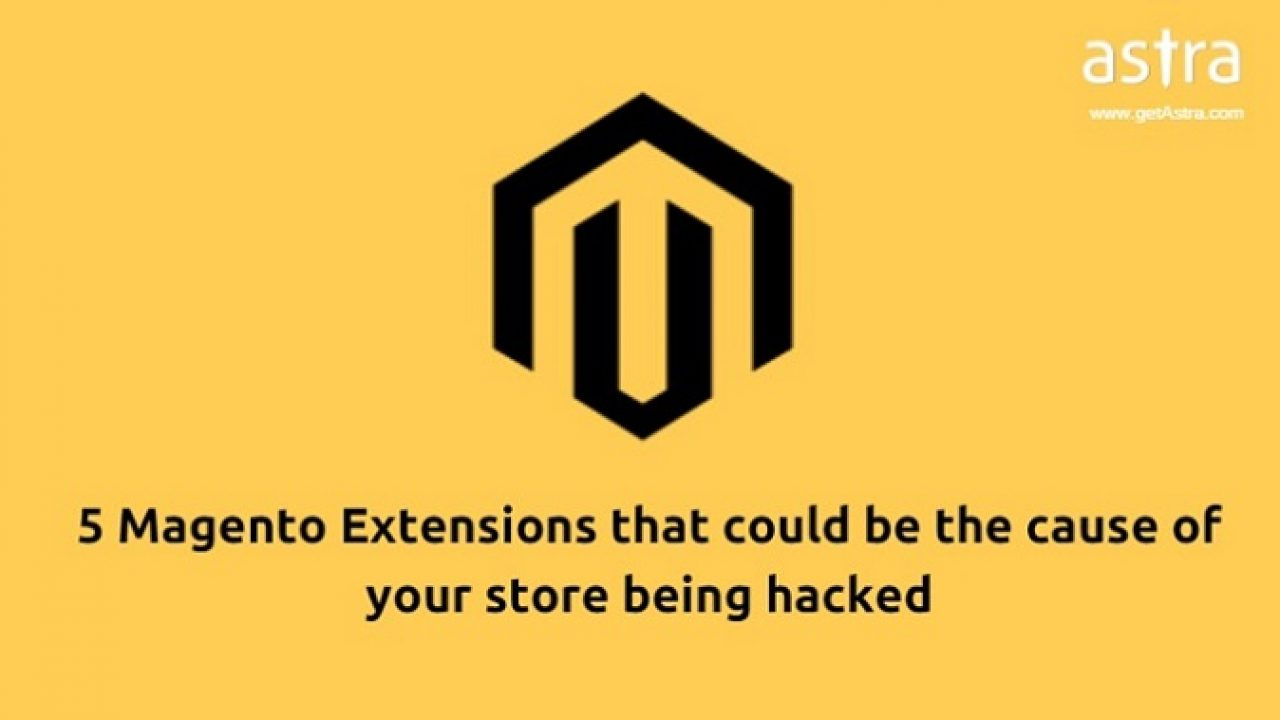 5 Magento Extensions that could be the cause of your store