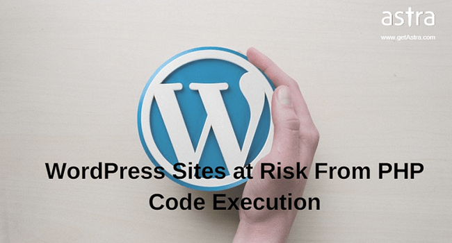 WordPress Code Injection