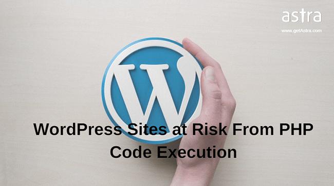 WordPress Code Injection