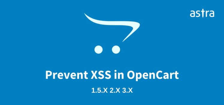 Prevent XSS in OpenCart