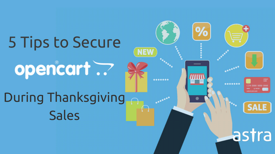 Tips to secure OpenCart on BlackFriday CyberMonday