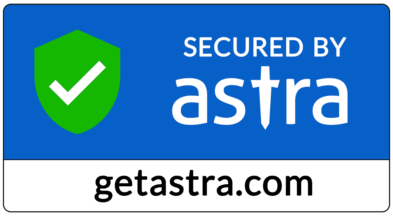 Astra Website Security Seal