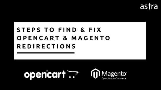 Opencart Magento website redirecting to malware sites