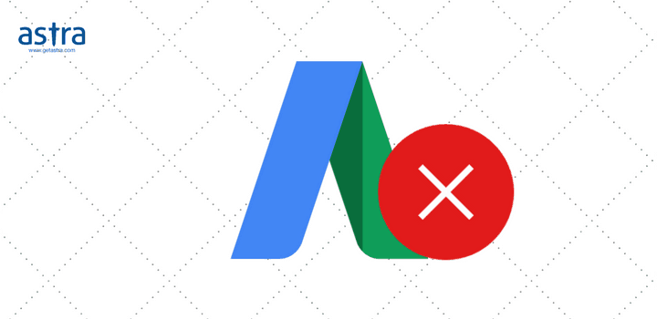 Google Suspended your Ads because of Malware & Unwanted Software.