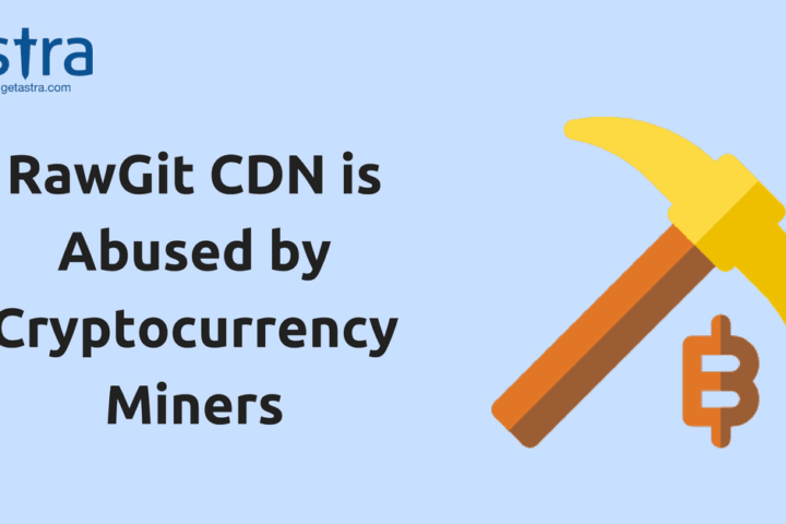 RawGit CDN is Abused by Cryptocurrency Miners