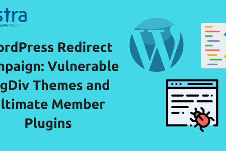 WordPress Redirect Campaign: Vulnerable tagDiv Themes and Ultimate Member Plugins