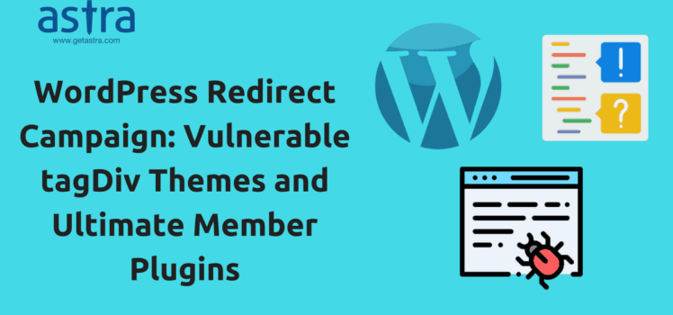 WordPress Redirect Campaign: Vulnerable tagDiv Themes and Ultimate