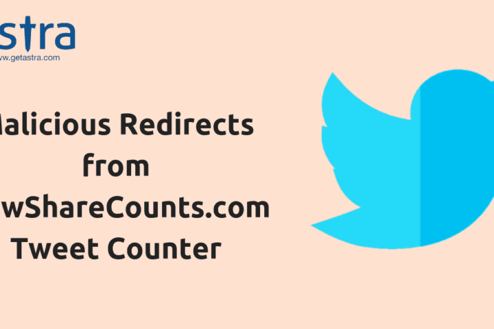 NewShareCounts.com Tweet Counter Redirecting to Malicious Pages