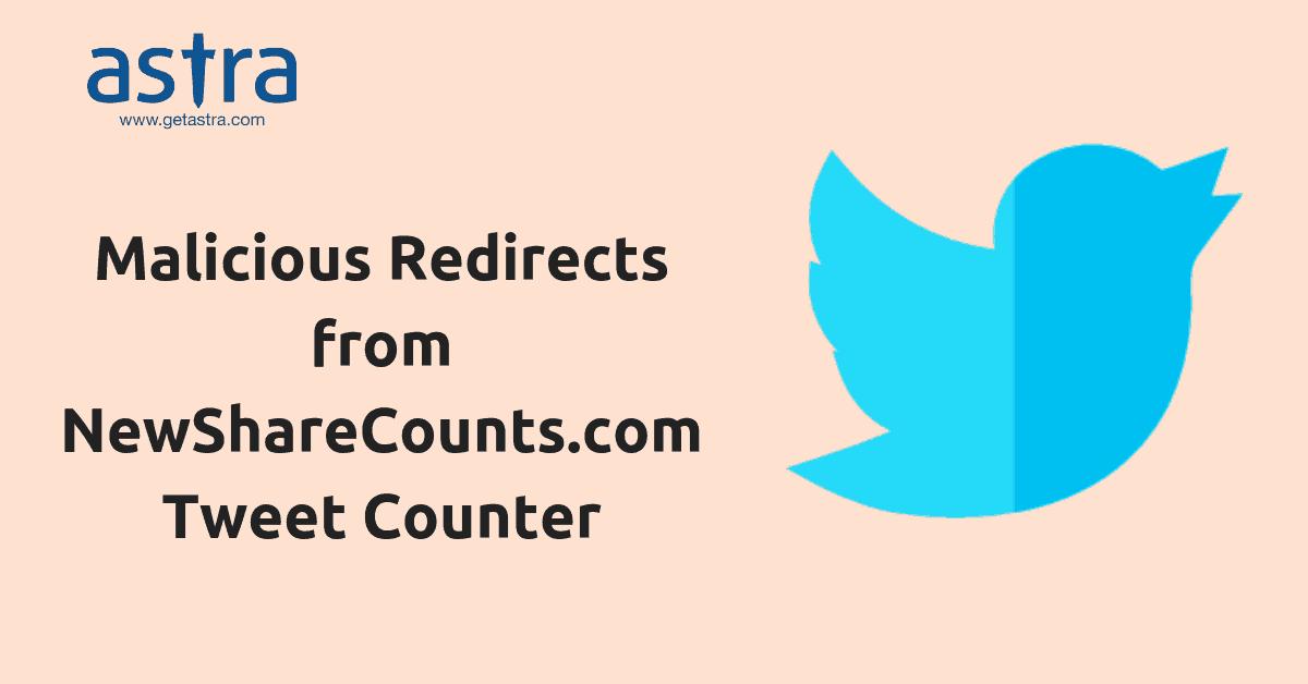 twitter malicious rediirects