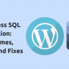 wordpress sql injection protection