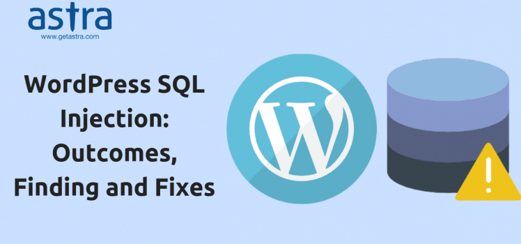 WordPress SQL Injection  How to protect your WordPres against SQL