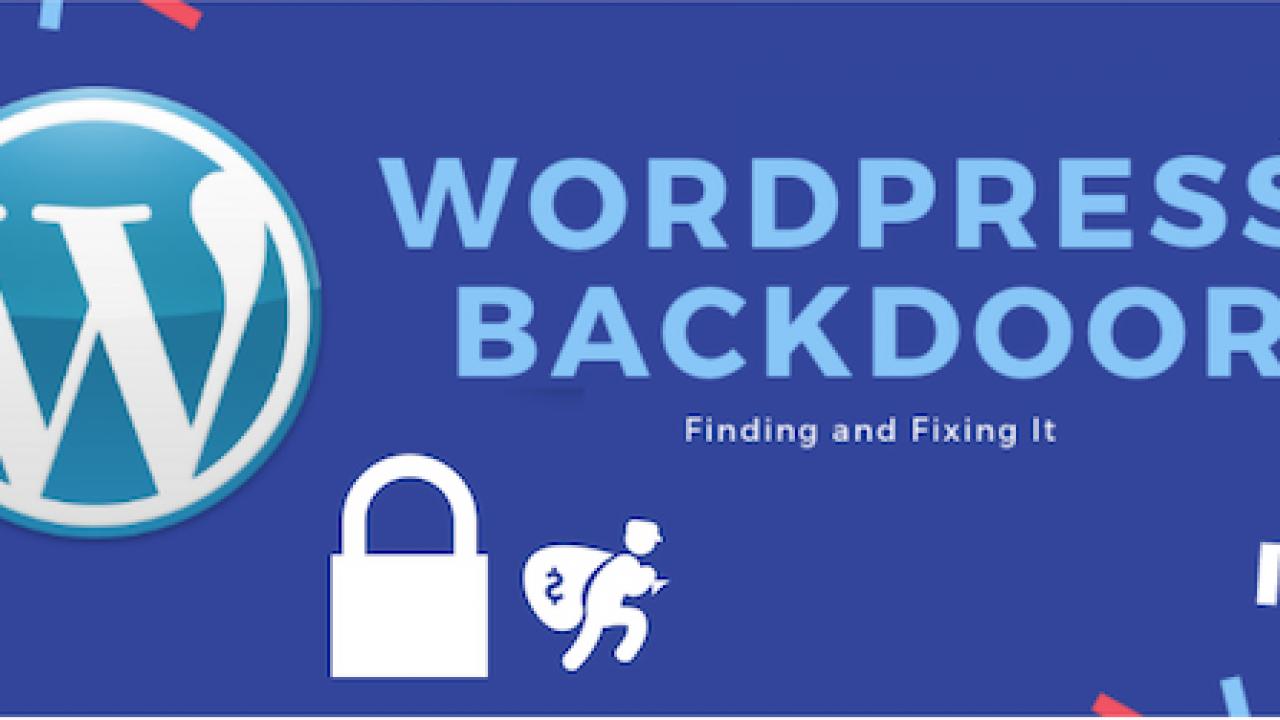 WordPress Backdoor Hack  How to Find & Remove Wordpress
