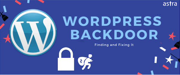 WordPress backdoor hack featured image