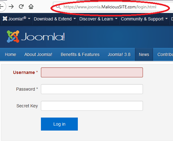 Joomla Hacked: These Joomla Vulnerabilities Could be the Reason