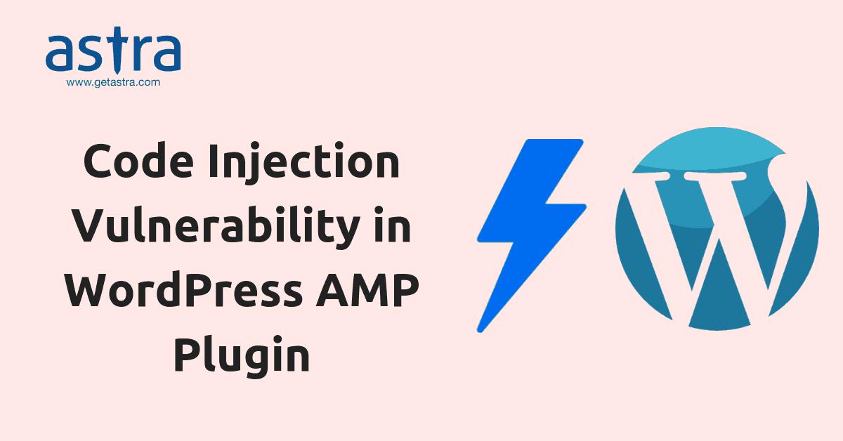 AMP plugin in wordpress hacked