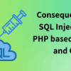 Consequences of SQL Injection in PHP website and CMS (Opencart, Magento, WordPress, Joomla & Prestashop)