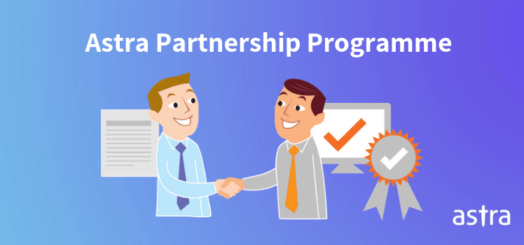 Astra web security partnership programme