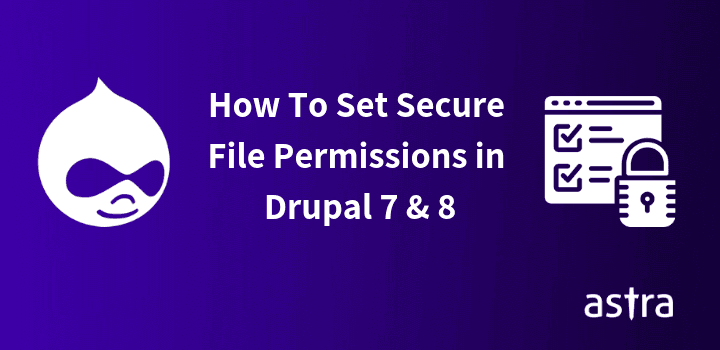 Fixing Drupal 7 & 8 Secure File Permissions Through FTP & Command
