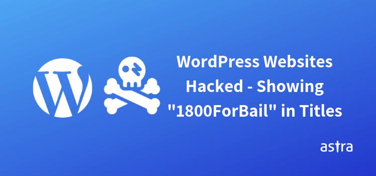 WordPress Websites Showing