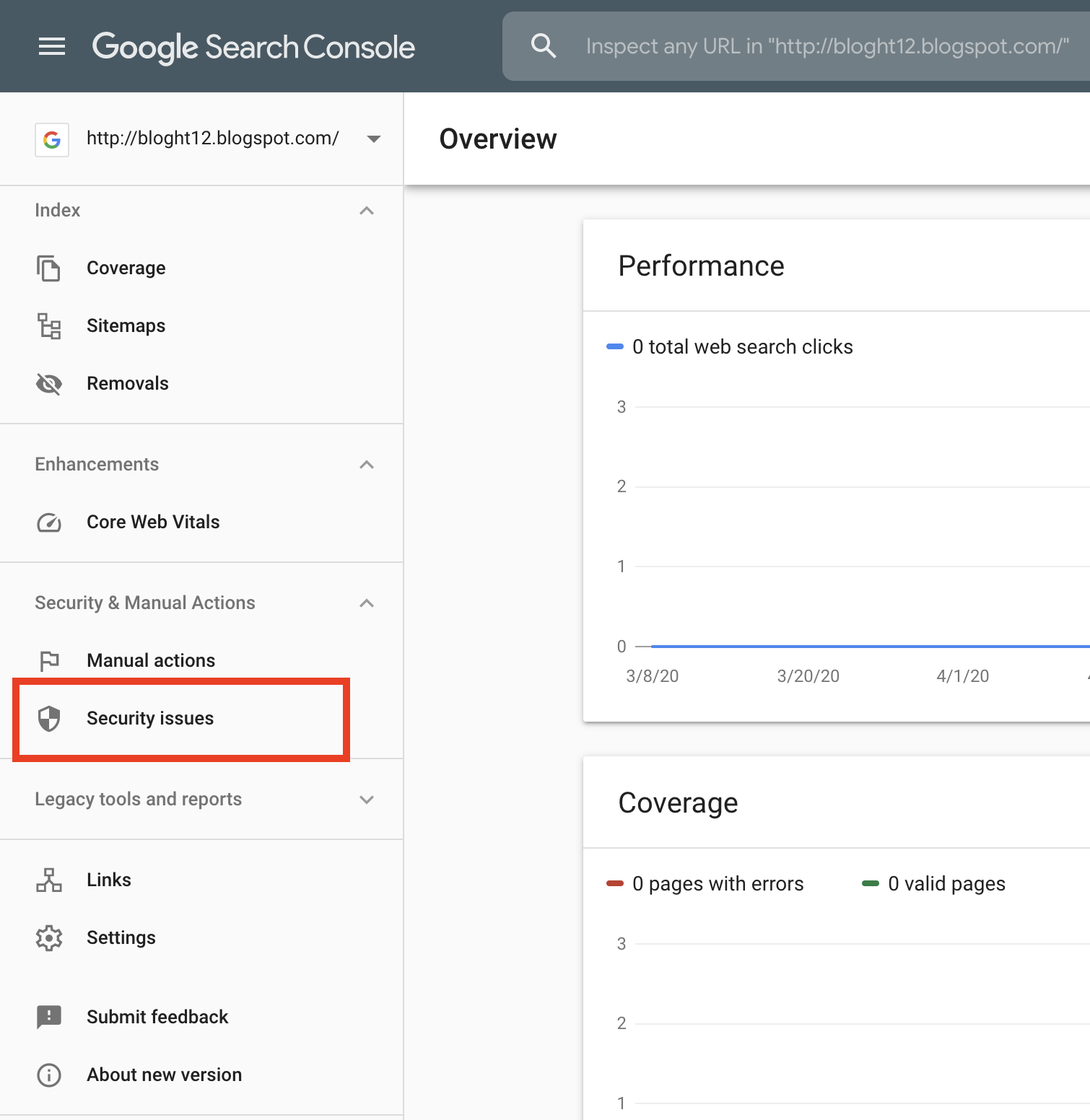 Deceptive Site Ahead Removal - Google Search Console