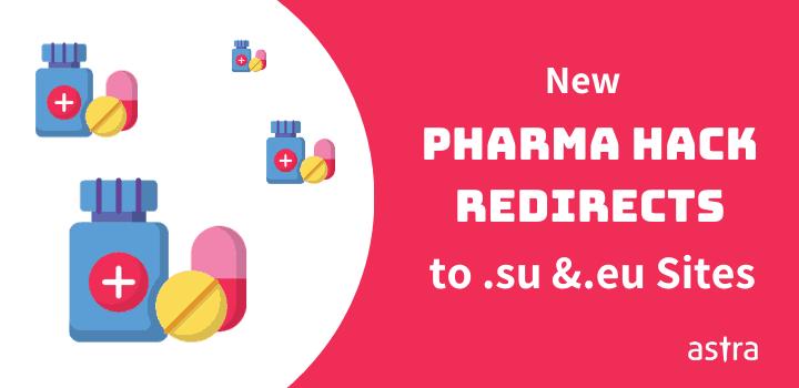 New Pharma Hack Redirects to Soviet Union (.su) & European Union (.eu) Sites