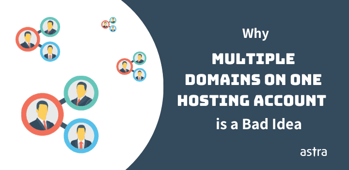 Why Multiple Domains on One Hosting Account is a Bad Idea