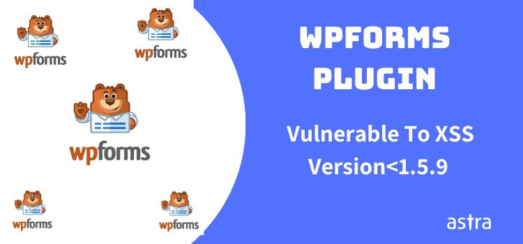 WP Form vulnerability