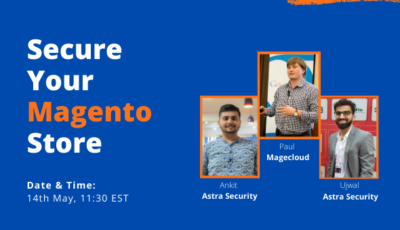 webinar - secure your magento store