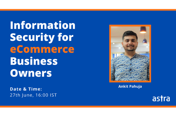 [Webinar] Information Security for E-commerce Business Owners – How To Secure Your E-Commerce Store