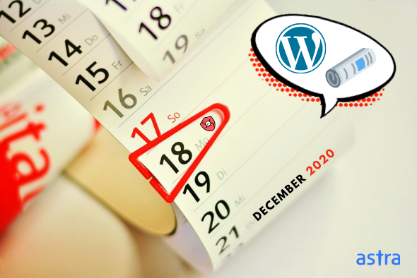 Monthly WordPress Security Roundup [December 2020]
